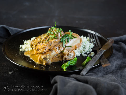 Creamy Low-Carb Chicken Chasseur