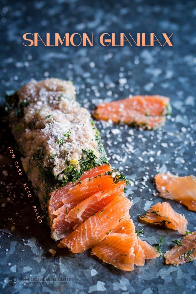 Healthy Salmon Gravlax