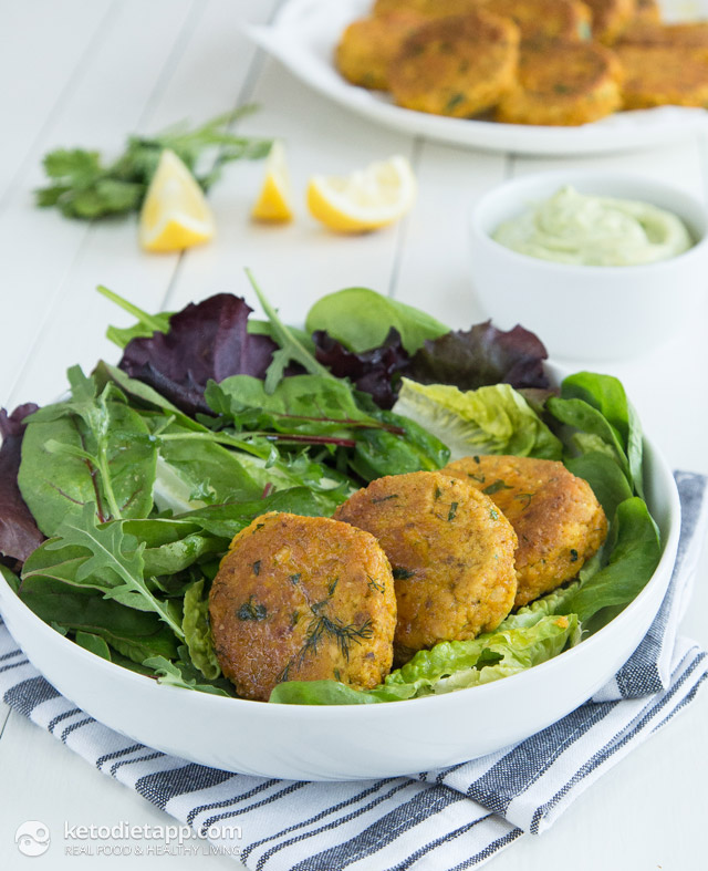 Low Carb Tuna Fish Cakes