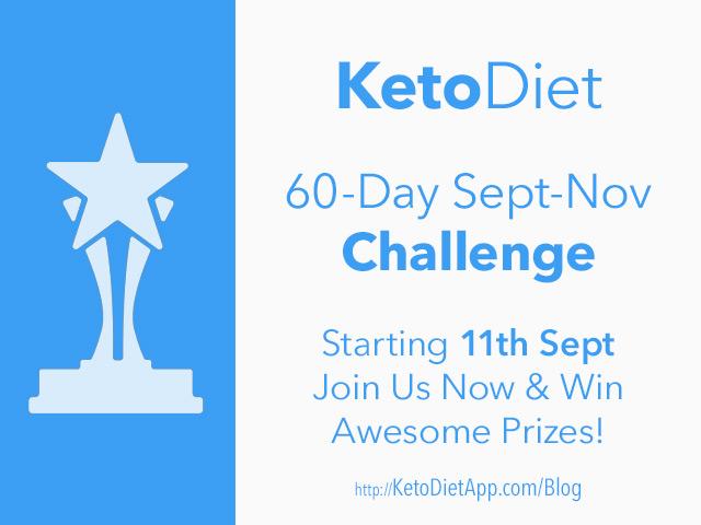 60-Day KetoDiet Challenge September-November 2017