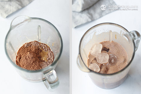 Keto Chocolate & Almond Frostino