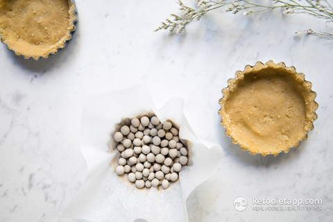 Low-Carb Chocolate & Lime Tarts