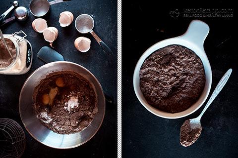 Keto Chocolate & Orange Self-Saucing Pudding