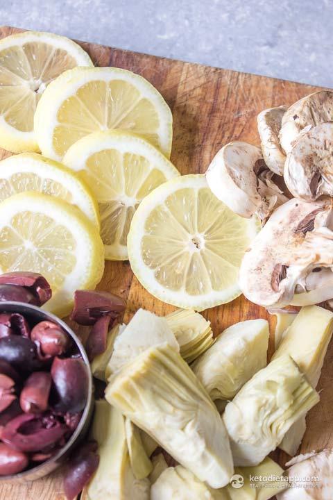 Keto Mediterranean Chicken Skillet