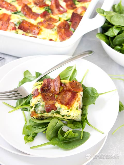 Keto Mexican Breakfast Casserole