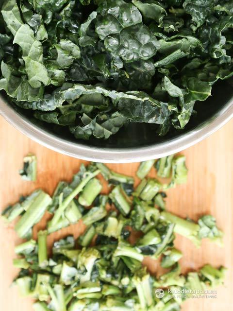 Keto Mexican Kale Frittata