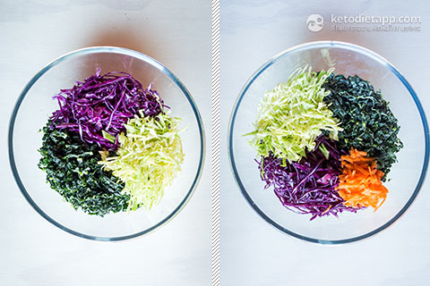 Tangy Low-Carb Kale Slaw