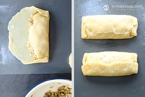 Apple Pie Keto Hot Pockets
