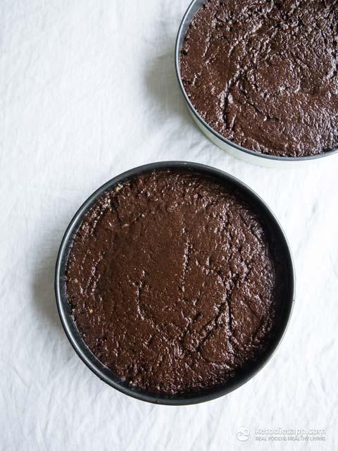 Keto Celebration Brownie Cake