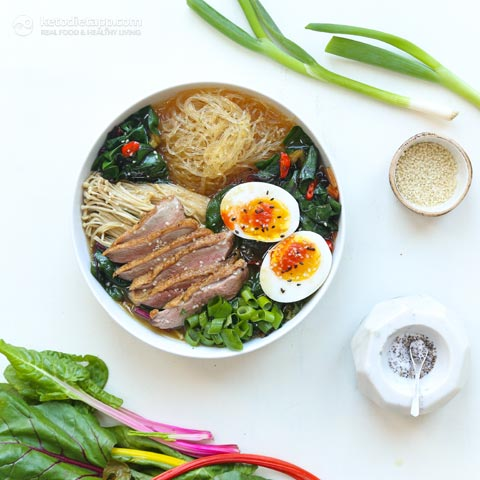 Low-Carb Duck Ramen