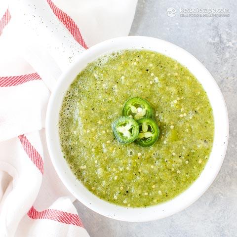 Healthy Homemade Salsa Verde
