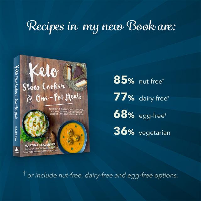 Keto Slow Cooker & One-Pot Meals - Crockpot Giveaway!