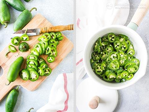 Sweet & Spicy Pickled Jalapeños