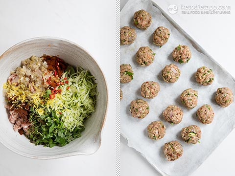 Low-Carb Bonfire Meatballs