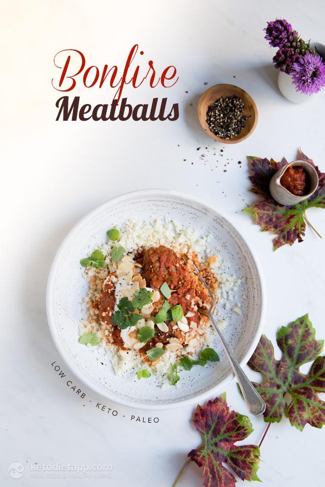 Low-Carb Bonfire Meatballs
