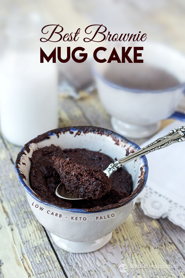 Keto Brownie In A Mug Recipe Easy