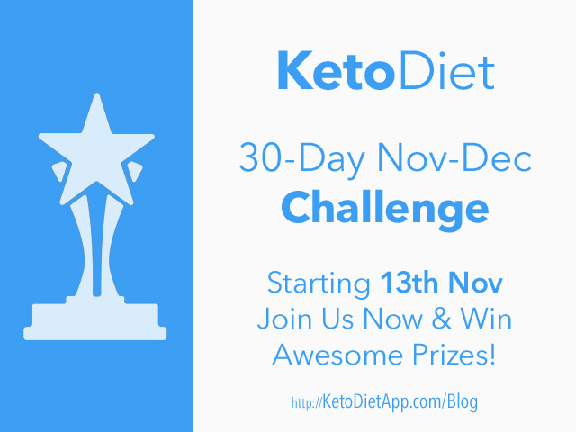 30-Day KetoDiet Countdown-to-Holidays Challenge 2017
