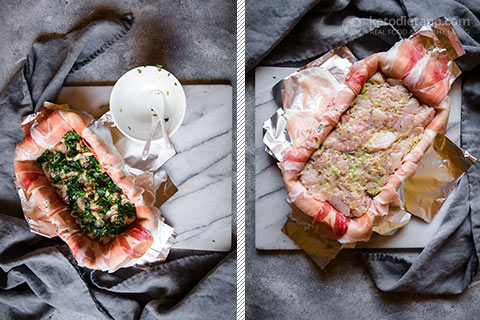 Low-Carb Chicken & Herb Terrine