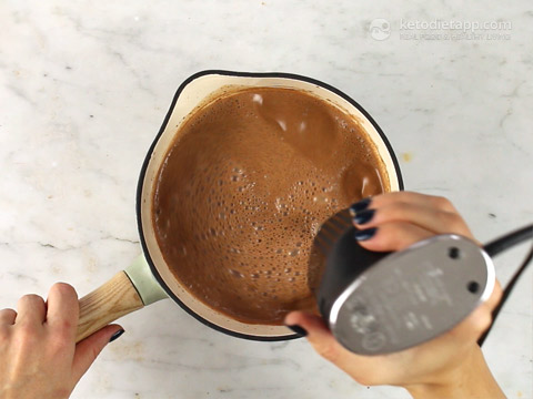 Super Creamy Keto Hot Chocolate