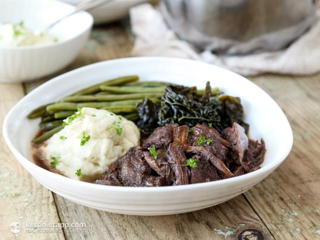 Oxtail & Tongue Stew with Rich Red Wine Sauce