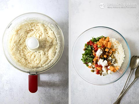 Low-Carb Pumpkin & Feta Cauliflower Tabbouleh