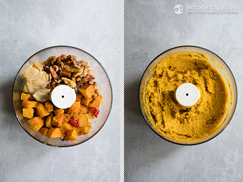 Low-Carb Pumpkin, Walnut & Feta Dip