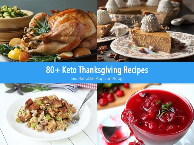 80+ Keto Recipes For Your Thanksgiving Menu