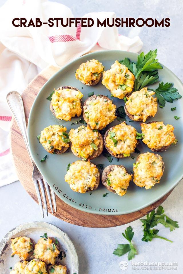 keto crab stuffed mushrooms - Olive Garden Stuffed Mushrooms