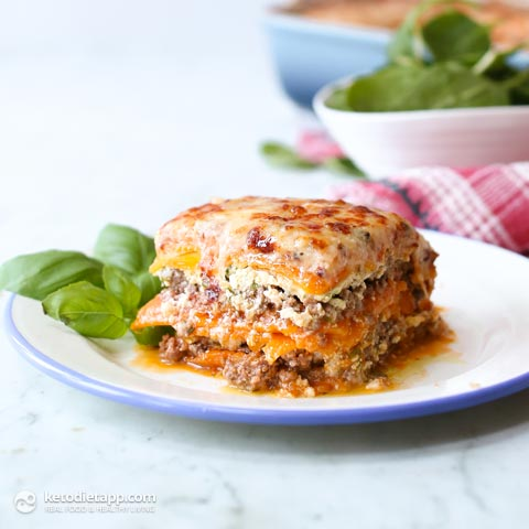 Low-Carb Butternut Squash Lasagna