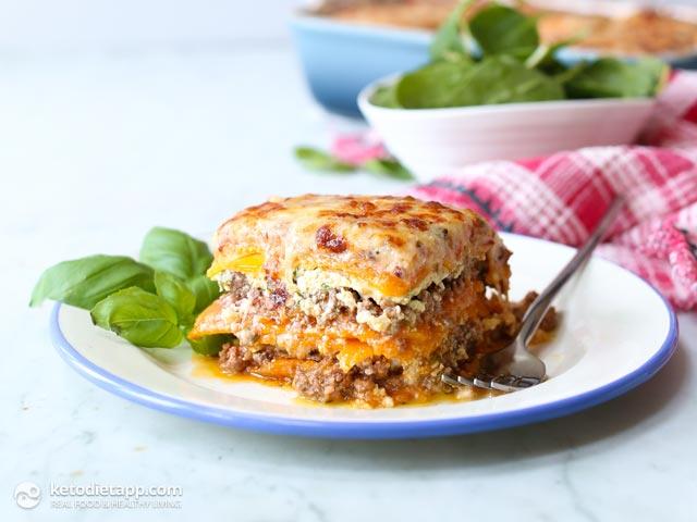 Low-Carb Butternut Squash Lasagna