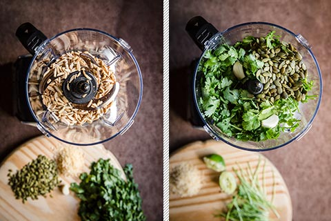 Low-Carb Cilantro Pesto
