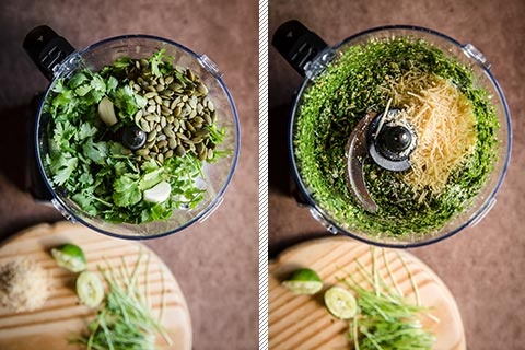 Homemade Cilantro Pesto