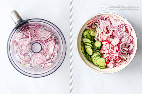 Quick & Easy Cucumber Radish Salad