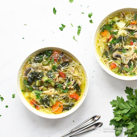 The Best Instant Pot Chicken Noodle Soup