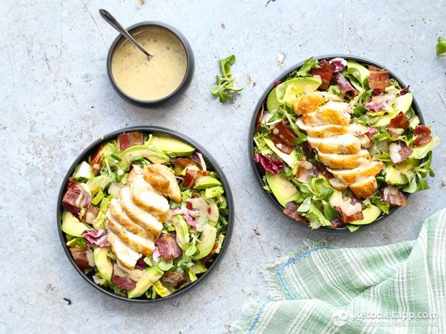 5 Ingredient Keto Chicken Salad