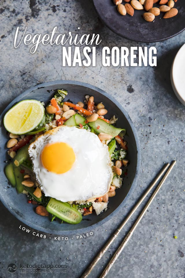 Low-Carb Vegetarian Nasi Goreng