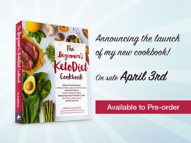 Announcing My Beginner's KetoDiet Cookbook