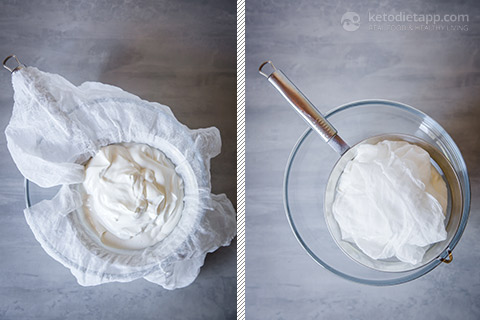 Homemade Labneh Cheese