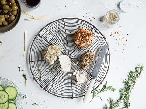 Probiotic Dairy-Free Keto Cheese