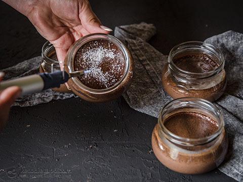 Keto Mocha Crème Brûlée