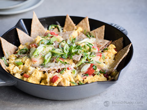 Low-Carb Tex Mex Migas