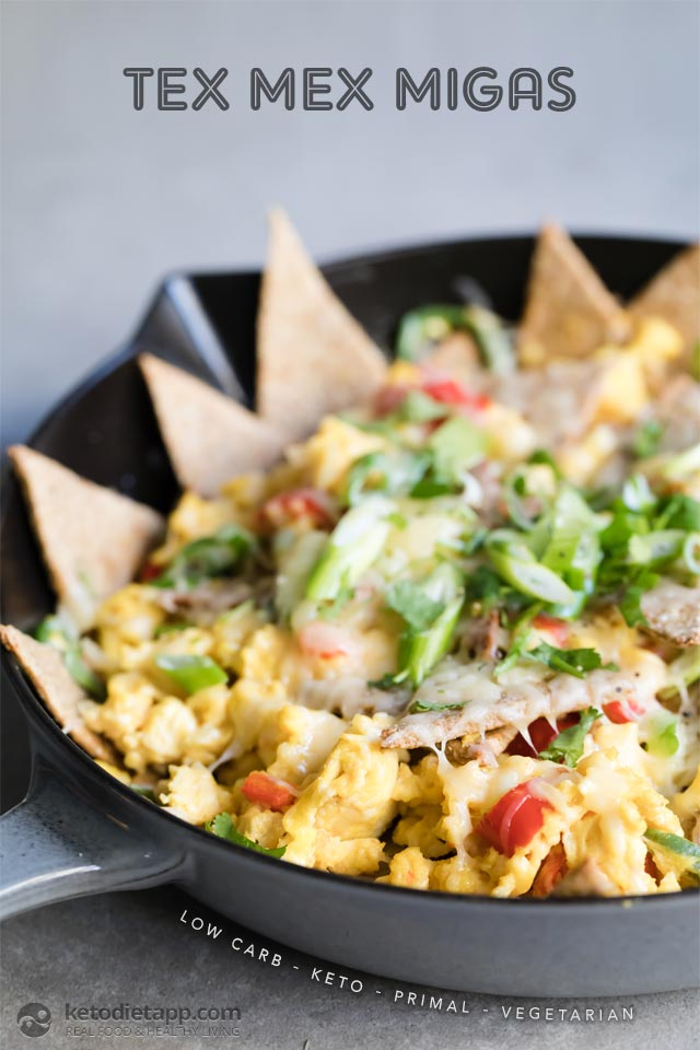 Low-Carb Tex Mex Migas | The KetoDiet Blog