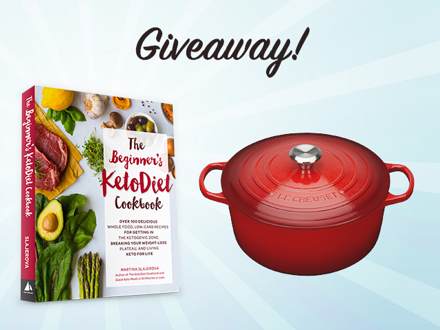 Beginner's KetoDiet Cookbook - Le Creuset Giveaway!