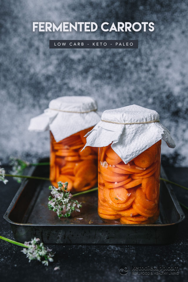 Gut-Healing Fermented Carrots