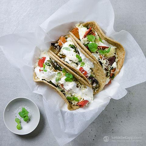 Vegetarian Keto Burritos