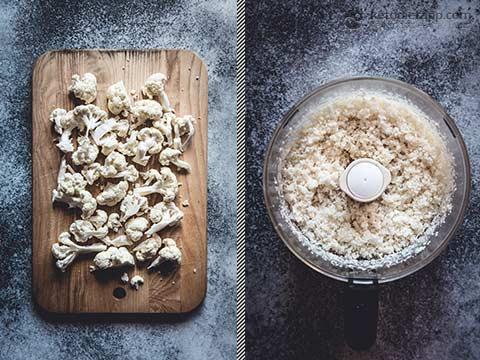 Low-Carb Mediterranean Cauliflower Couscous