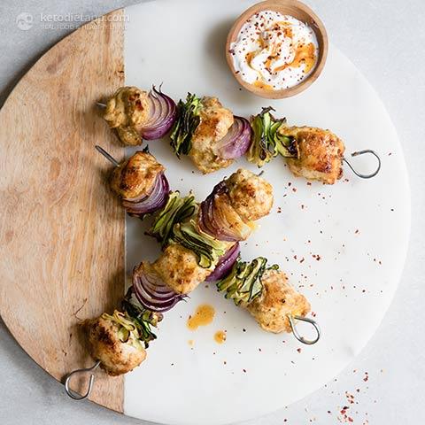 Low-Carb Tandoori Chicken Kebabs