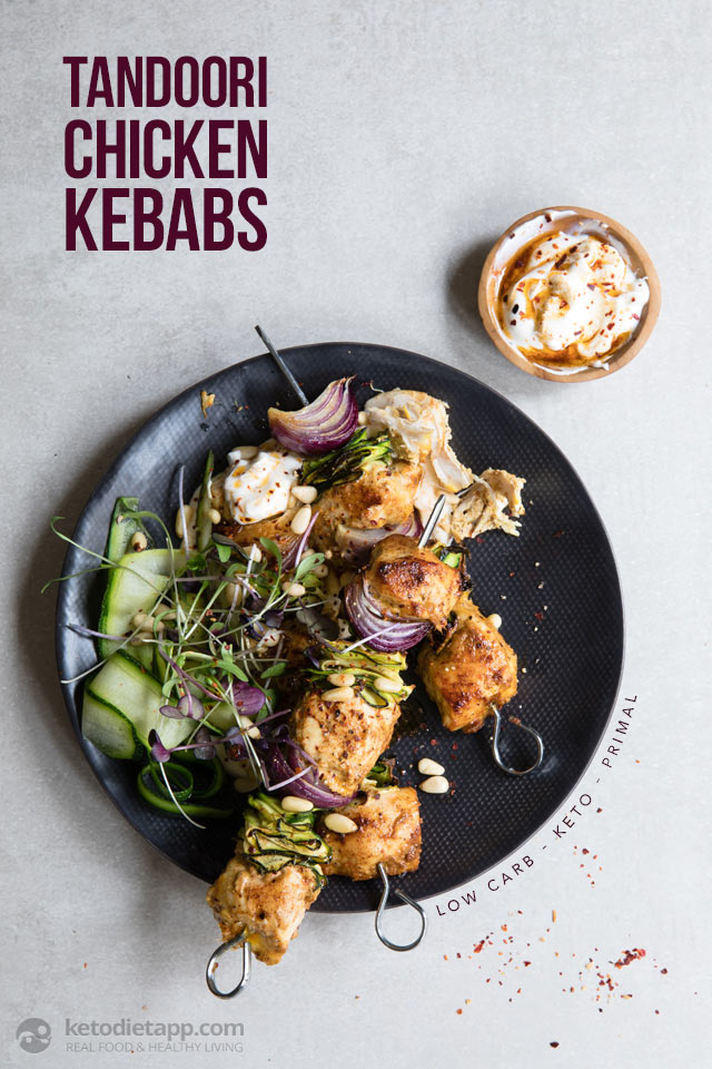 Low-Carb Tandoori Chicken Kebabs