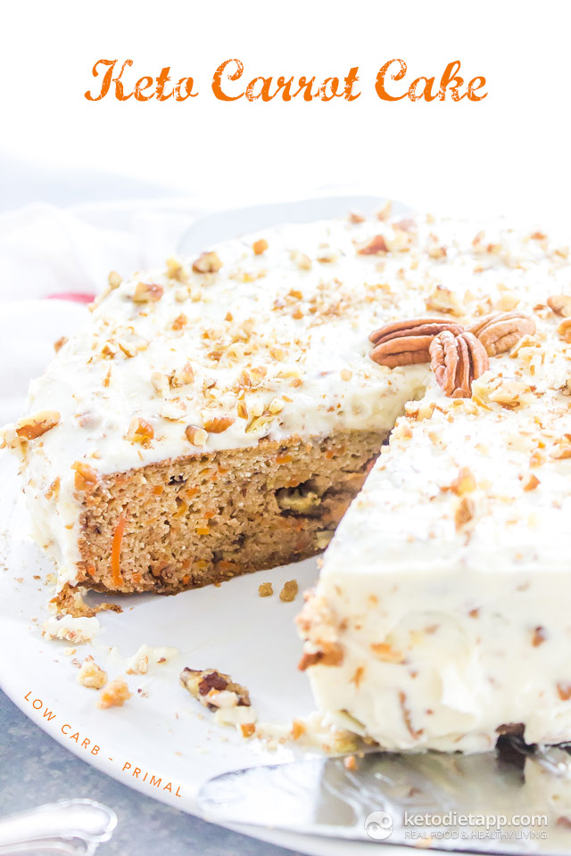 Healthy Keto Carrot Cake