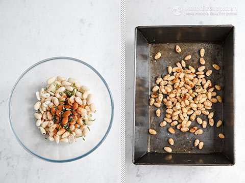 Activated Almonds with Rosemary & Paprika Salt